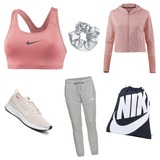 Sportoutfit Nike🏃🏼♀️Für Frauen/Mädchen Farben:Rosa #rosa #nike #sport #nikeschuhe
