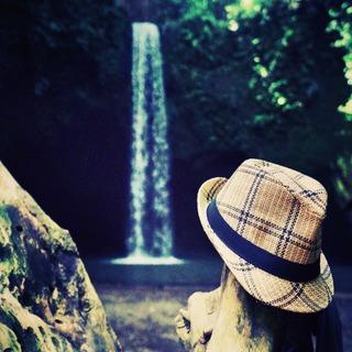 #hat #waterfall