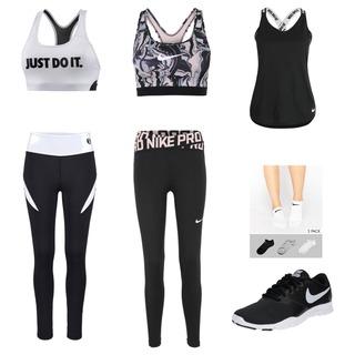#Sports #training #justdoit #cool  Diese 2 Outfits finde ich für den Sport sehr geeignet und schön. Das Top ist besonders praktisch weil es immer gut zum kombinieren ist.