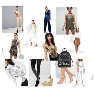 Metallic Look ist Trend. Unterschätze nicht die Magie eines metallic Teils. Sei mutig und mach ein Statement!