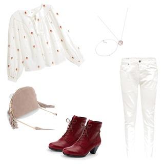 Ein gutes Outfit für einen Spaziergang durch die Stadt mit Freunden!