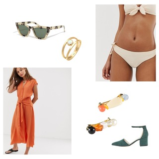 The perfect outfit to go on the beach and have some fun...💃🏼☀️