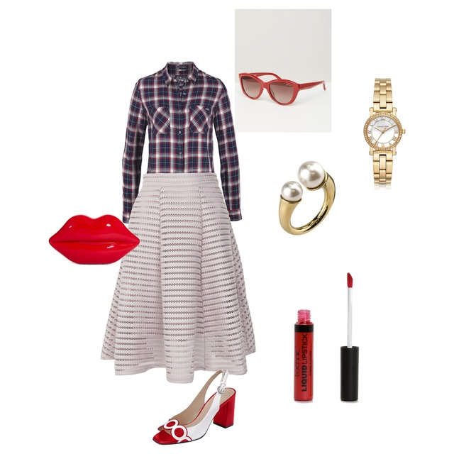 day with red - Style
