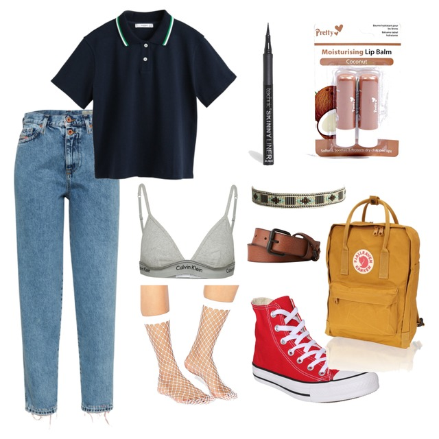 school outfit #annamay - Style