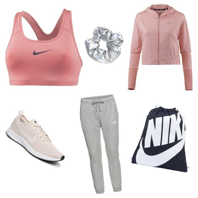 Sportoutfit Nike🏃🏼♀️Für Frauen/Mädchen Farben:Rosa #rosa #nike #sport #nikeschuhe - Style