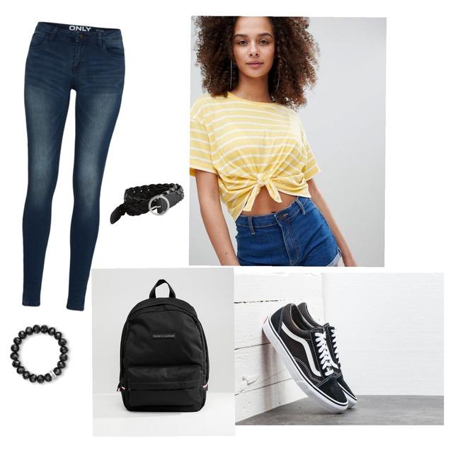 Back To School Look 🌹Frauen/Mädchen #vans #Hollister - Style