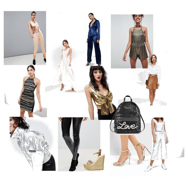 Metallic Look ist Trend. Unterschätze nicht die Magie eines metallic Teils. Sei mutig und mach ein Statement! - Style