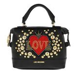 Love Moschino - Tote - Love Handbag Leather Black - in schwarz - für Damen - 118.30 €