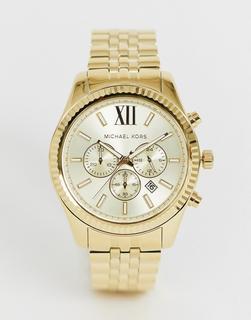 MICHAEL KORS - MK8281 Lexington gold chronograph watch