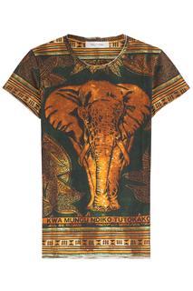 Valentino - Printed Cotton T-Shirt