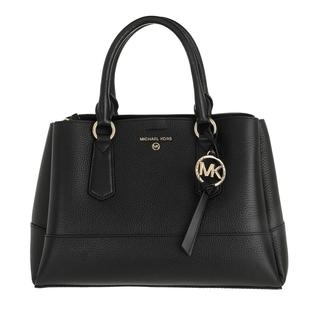 MICHAEL KORS - Tote - Medium Satchel Black - in schwarz - für Damen