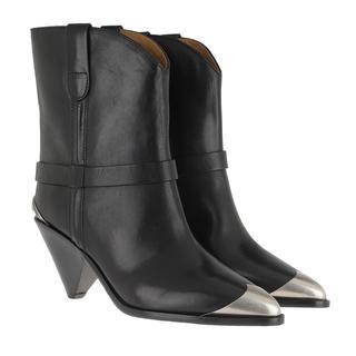 Isabel marant - Boots - Limza Boots Leather Black - in schwarz - für Damen