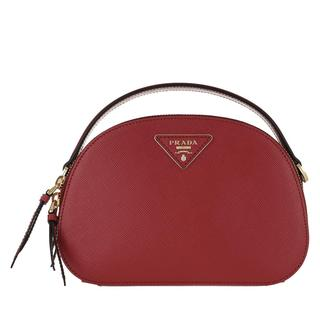 Prada - Umhängetasche - Odette Shoulder Bag Leather Fiery Red - in rot - für Damen