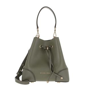 MICHAEL KORS - Beuteltasche - Small Mercer Gallery Shoulder Bag Army Green - in grün - für Damen
