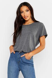 boohoo - Womens Basic Oversized T-Shirt - grey - 6, Grey