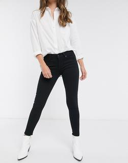 Levis - 711 mid rise skinny jeans