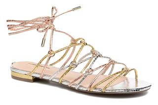 guess - Racha - Sandalen für Damen / silber
