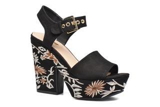 guess - Caralin2 - Sandalen für Damen / schwarz