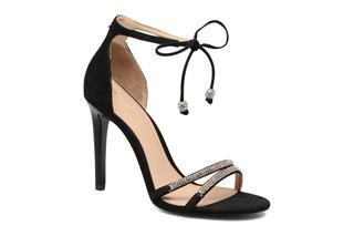 guess - PERI - Sandalen für Damen / schwarz