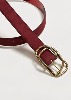 Violeta BY MANGO - Embossed buckle belt