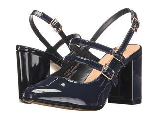 Bella-Vita - Nessa II (Navy Patent) High Heels - $ 47.99