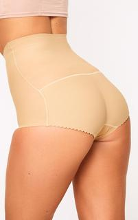 PrettyLittleThing - Nude Shapewear High Waisted Control Pants, Pink