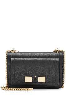 Salvatore Ferragamo - Ginevra Leather Shoulder Bag