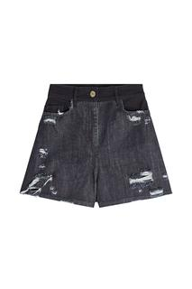 Public School - Thana Distressed Denim Shorts
