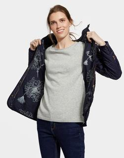 Joules Clothing - Marine Navy Newdale Quilted Jacket  Size 12