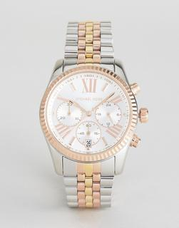 MICHAEL KORS - MK5735 Lexington bracelet watch in mixed metal