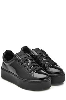 Kenzo - Patent Leather Platform Sneakers
