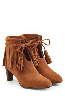 See by Chloé - Irina Suede Ankle Boots