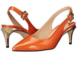 J. Renee - Pearla (Orange) High Heels