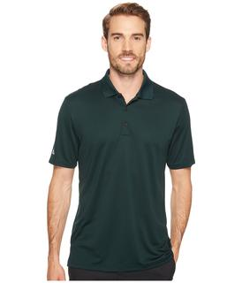 adidas Golf - Performance Polo (Green Night) Men's Clothing