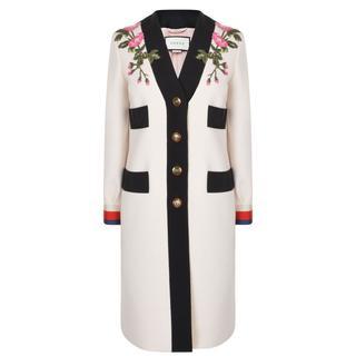 Gucci - Floral Patch Coat