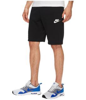 Nike - Sportswear Advance 15 Short (Black/Black/White) Men's Shorts