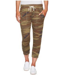 Alternative - Eco Cropped Jogger (Camo) Women's Casual Pants