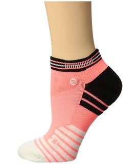 Stance - Goals Low (Coral) Women's Crew Cut Socks Shoes