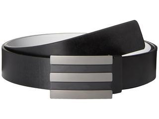 adidas Golf - 3-Stripes Reversible Belt (Black/Stone) Men's Belts