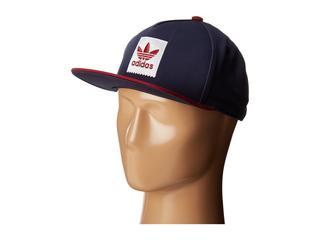 adidas Skateboarding - Two-Tone Blackbird Snapback Hat (Collegiate Navy) Caps