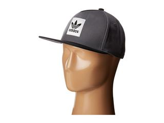 adidas Skateboarding - Two-Tone Blackbird Snapback Hat (Grey Three) Caps