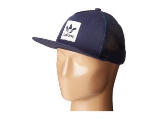 adidas Skateboarding - Trefoil Trucker Hat (Collegiate Navy) Caps