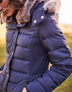 Joules Clothing - Marine Navy Caldecott Padded Coat  Size 6