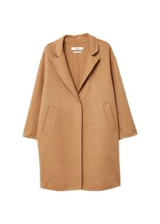 MANGO - Wool handmade coat