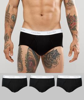 Calvin Klein - briefs cotton classic 3 pack in black