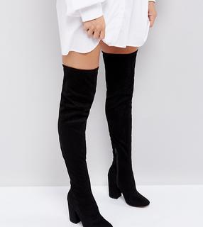 ASOS DESIGN - ASOS KATCHER Heeled Over The Knee Boots