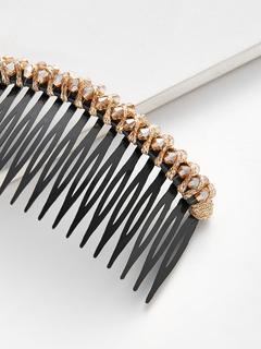 SheIn - Rhinestone Trim Comb Clip