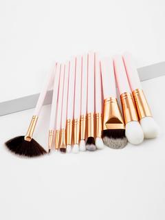 SheIn - Professional Makeup Brush Set 12pcs