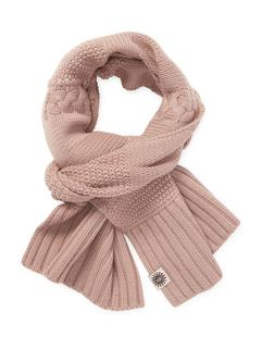 UGG australia - Wool Blend Cableknit Rectangular Scarf