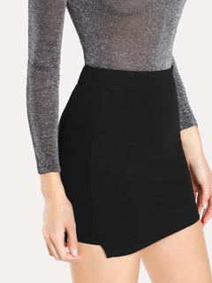 SheIn - Solid Knit Bodycon Skirt